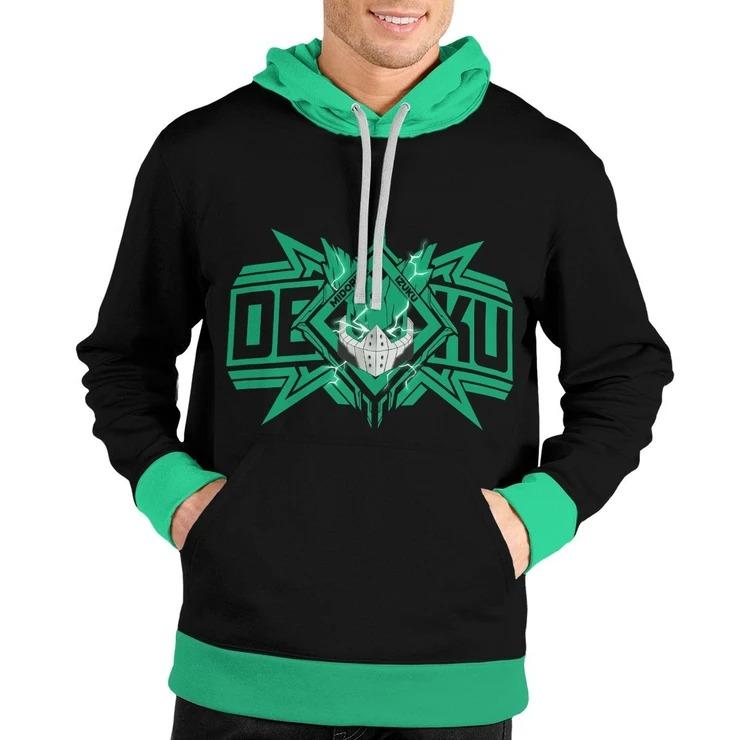 Deku Spirit Unisex Pullover Hoodie 3