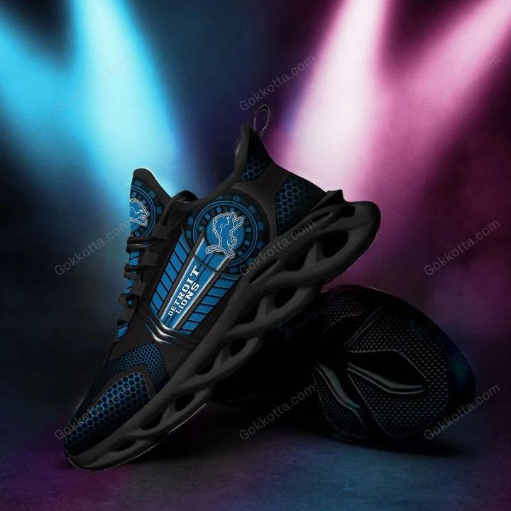 Detroit lions NFL max soul shoes 1