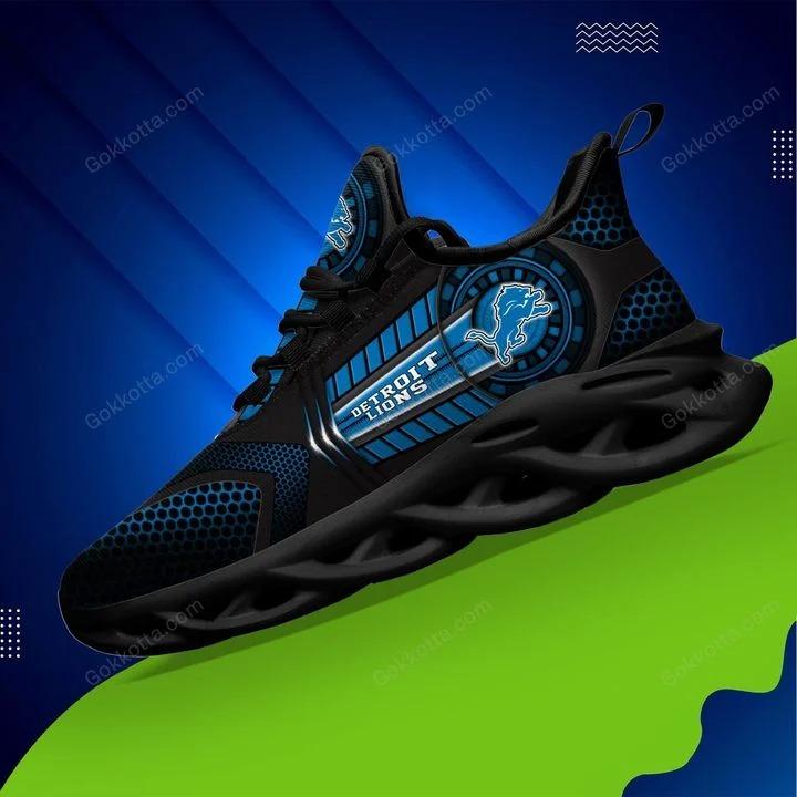 Detroit lions NFL max soul shoes 3
