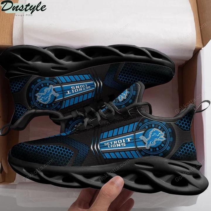 Detroit lions NFL max soul shoes