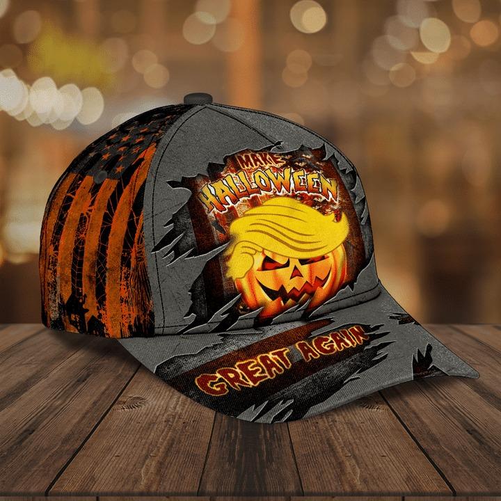 Donald Trump make halloween great again hat cap 1