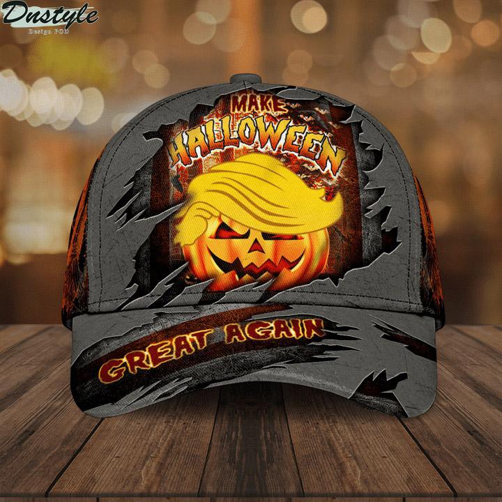 Donald Trump make halloween great again hat cap