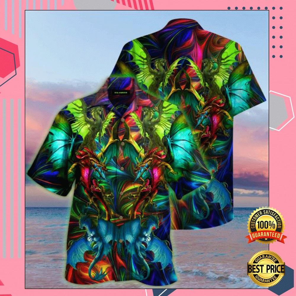 Dragon unisex hawaiian shirt