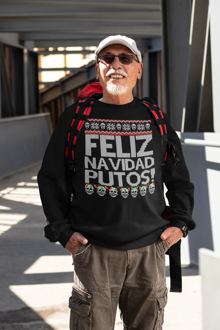 Feliz Navidad Putos Ugly Christmas Sweater 3