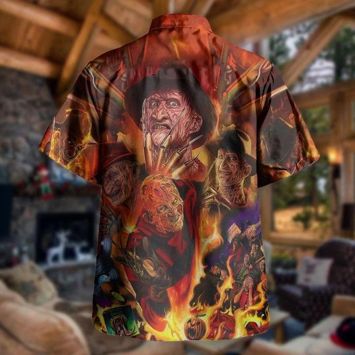 Freddy Krueger killin' it since 1984 hawaiian shirt 1