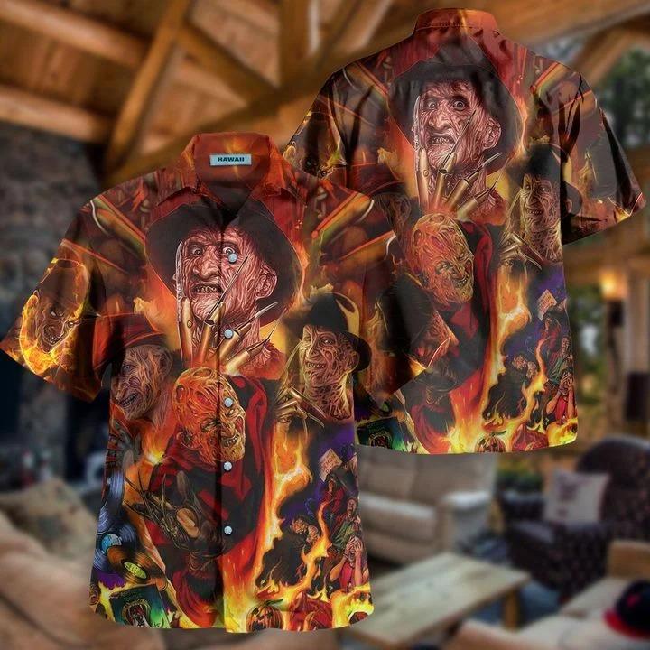Freddy Krueger killin' it since 1984 hawaiian shirt 2