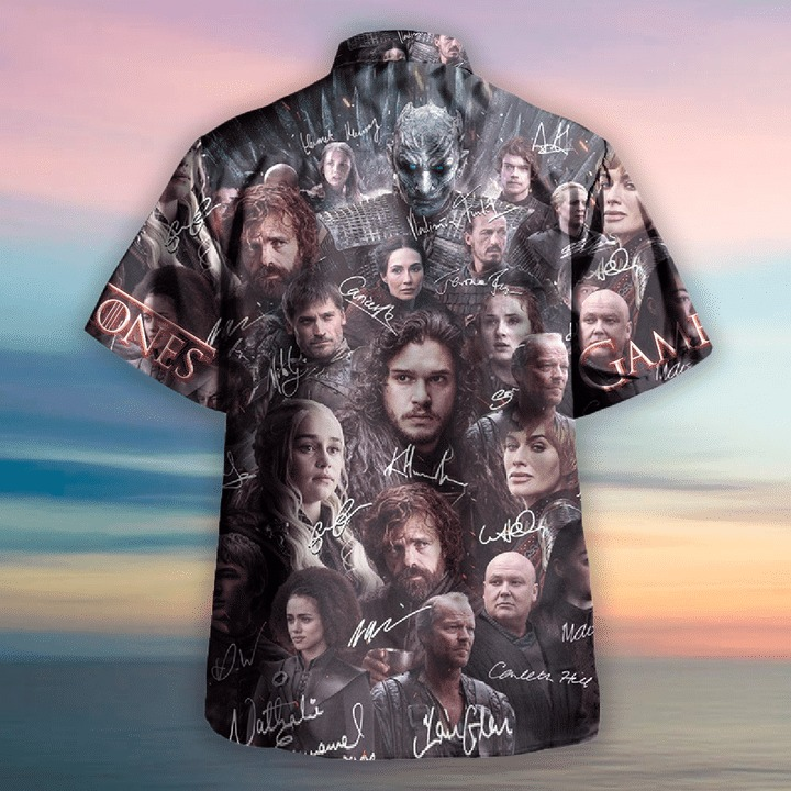 Game of thrones winter is coming unisex hawaiian shirt 1