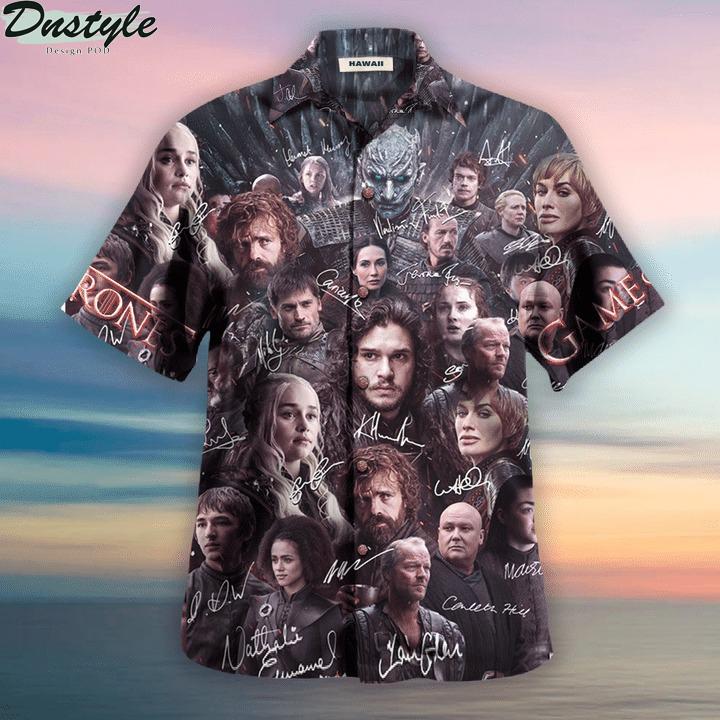 Game of thrones winter is coming unisex hawaiian shirt