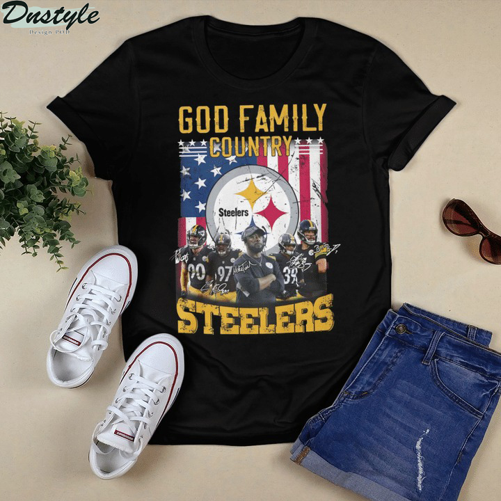 God family country Pittsburgh Steelers shirt