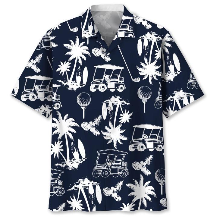 Golf hawaiian shirt 1