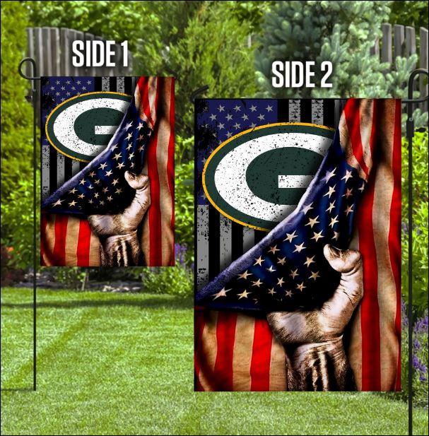 Green Bay Packers American flag