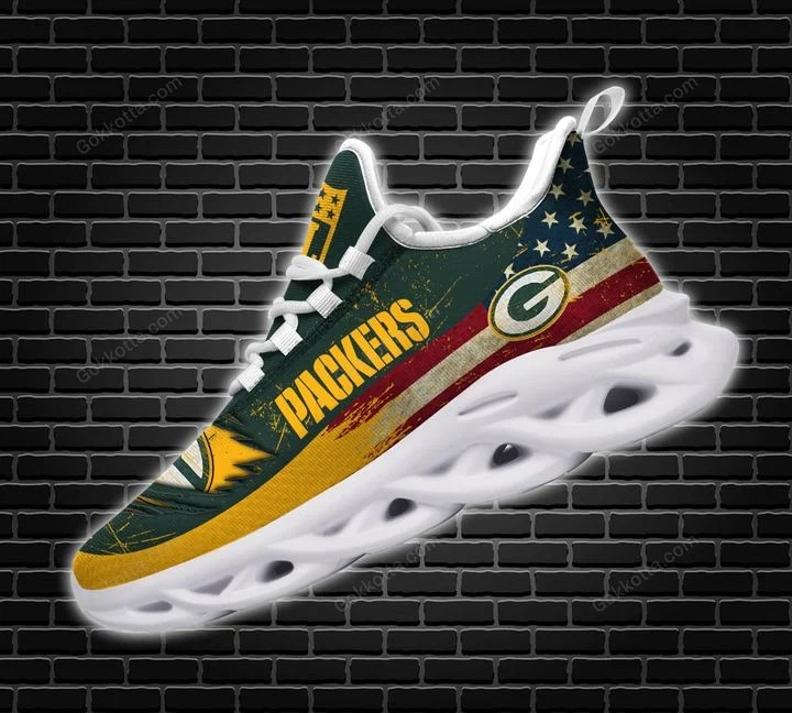 Green bay packers NFL max soul shoes 2