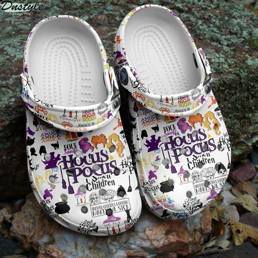 Halloween hocus pocus crocs crocband clog