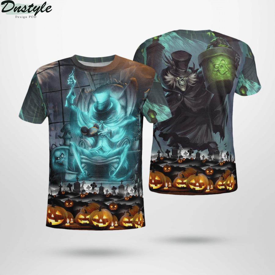 Hatbox ghost halloween 3d t-shirt