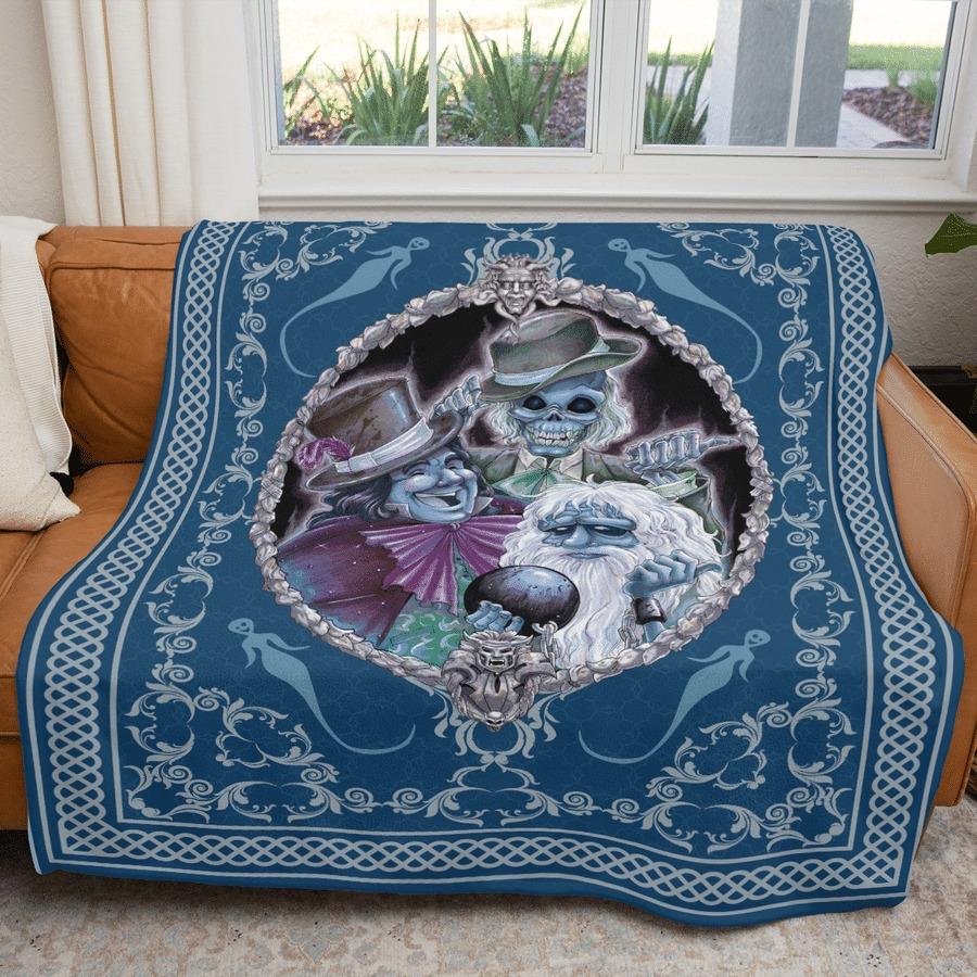 Haunted mansion fleece blanket 2