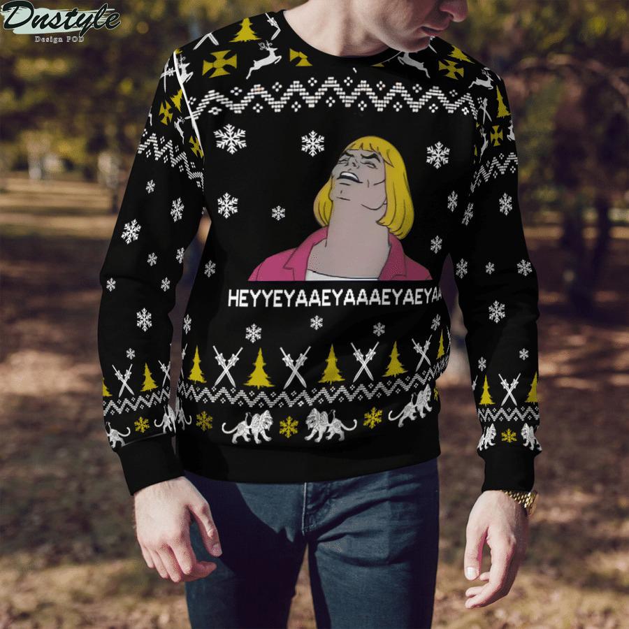 He-Man meme ugly sweater