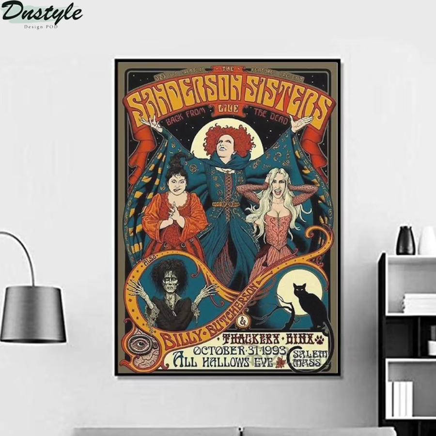 Hocus pocus The Sanderson Sisters 1993 movie poster