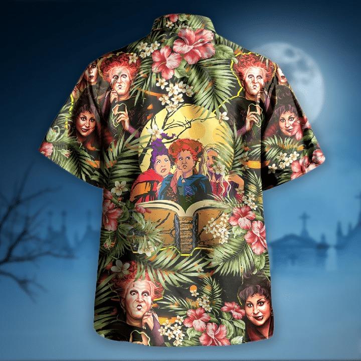 Hocus pocus halloween hawaiian shirt 1