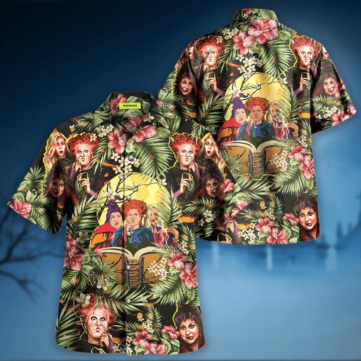 Hocus pocus halloween hawaiian shirt 2