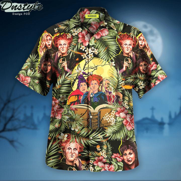 Hocus pocus halloween hawaiian shirt