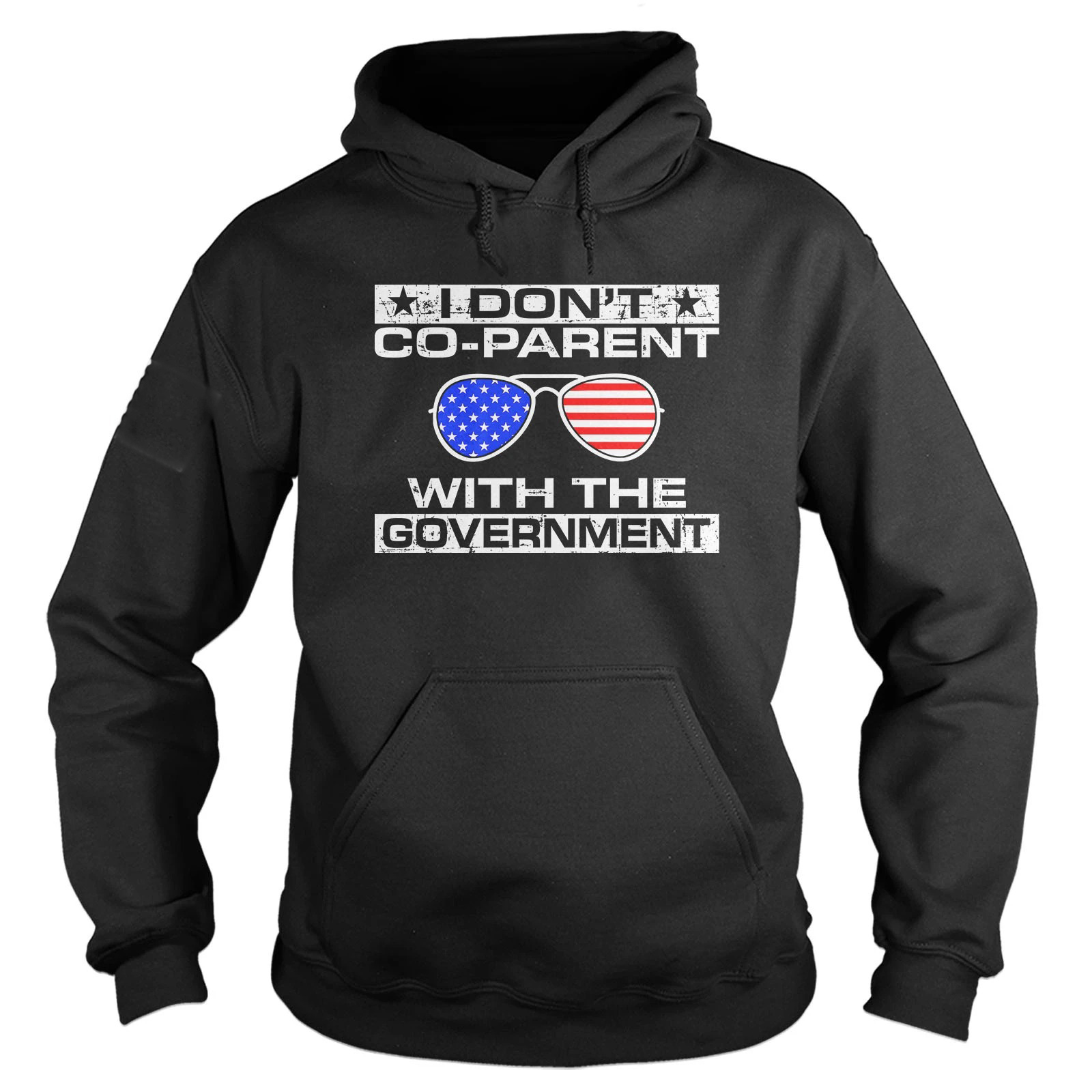 I don't co-parent with the government hoodie