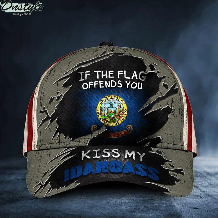 If The Flag Offends You Kiss My Idahoass Cap Hat