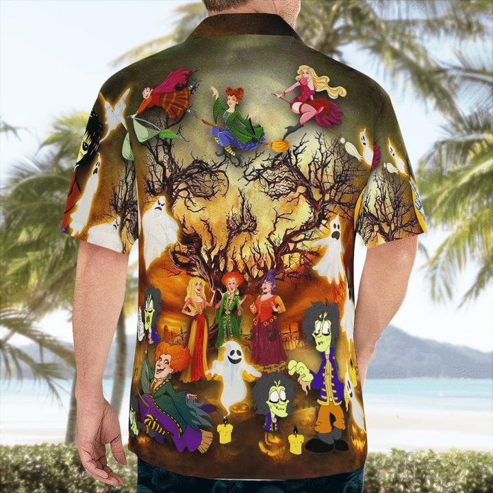 It's time to hocus pocus yahhhooo hawaiian shirt 2