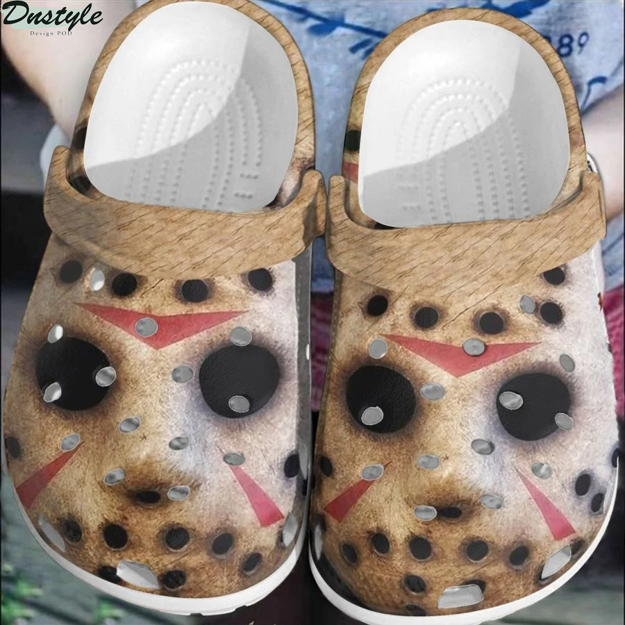 Jason Voorhees halloween horror crocs crocband shoes