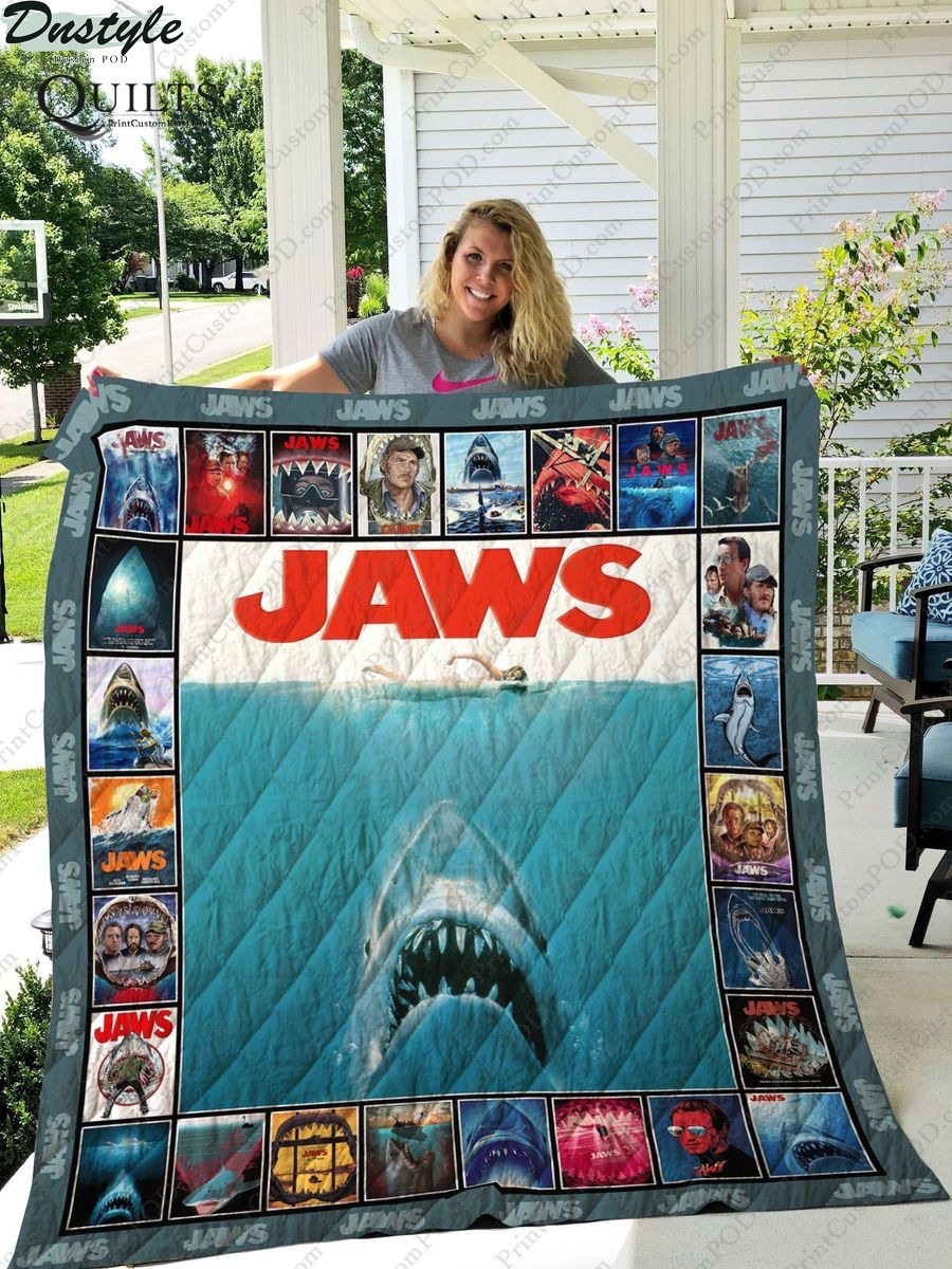 Jaws 45th Quilt Blanket