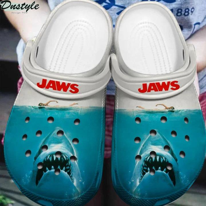 Jaws Shark Horror Halloween Crocs Crocband clog shoes