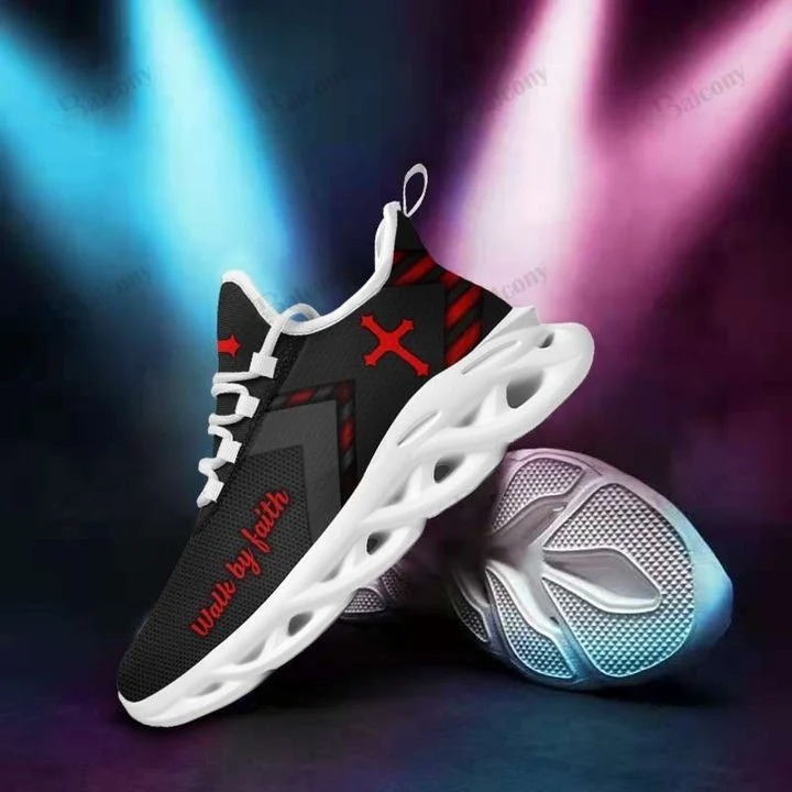 Jesus yezzy walk by faith max soul shoes 1