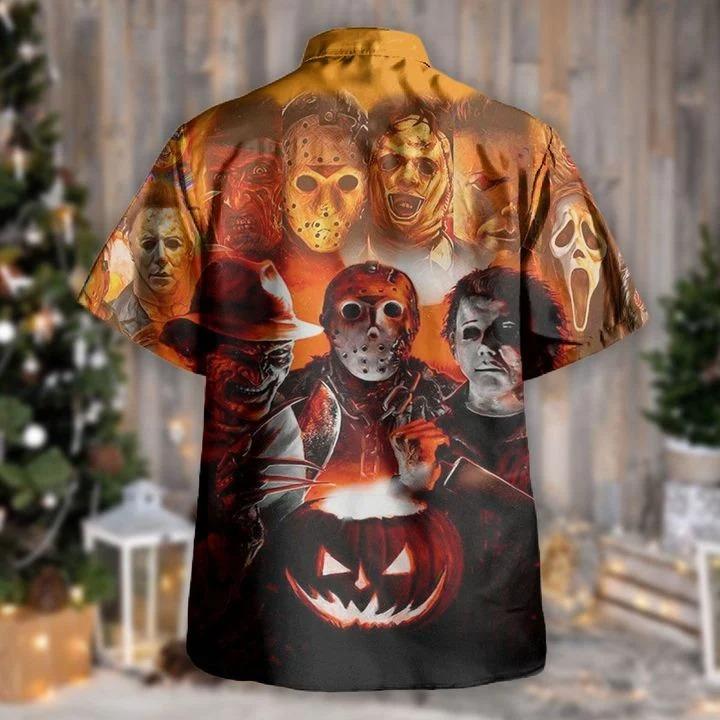 Join us to make halloween great again hawaiian shirt 1