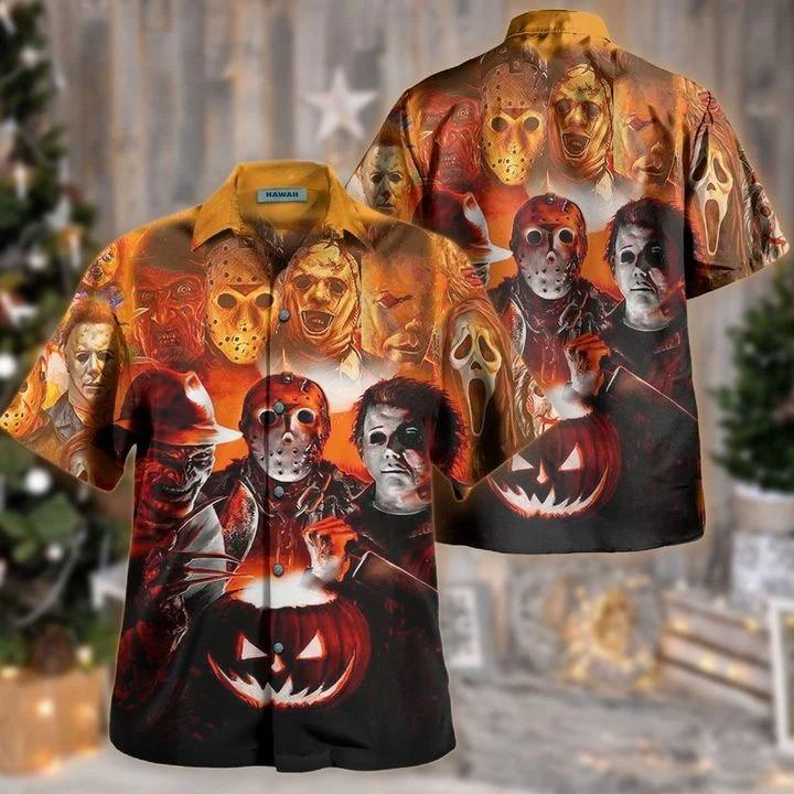 Join us to make halloween great again hawaiian shirt 2