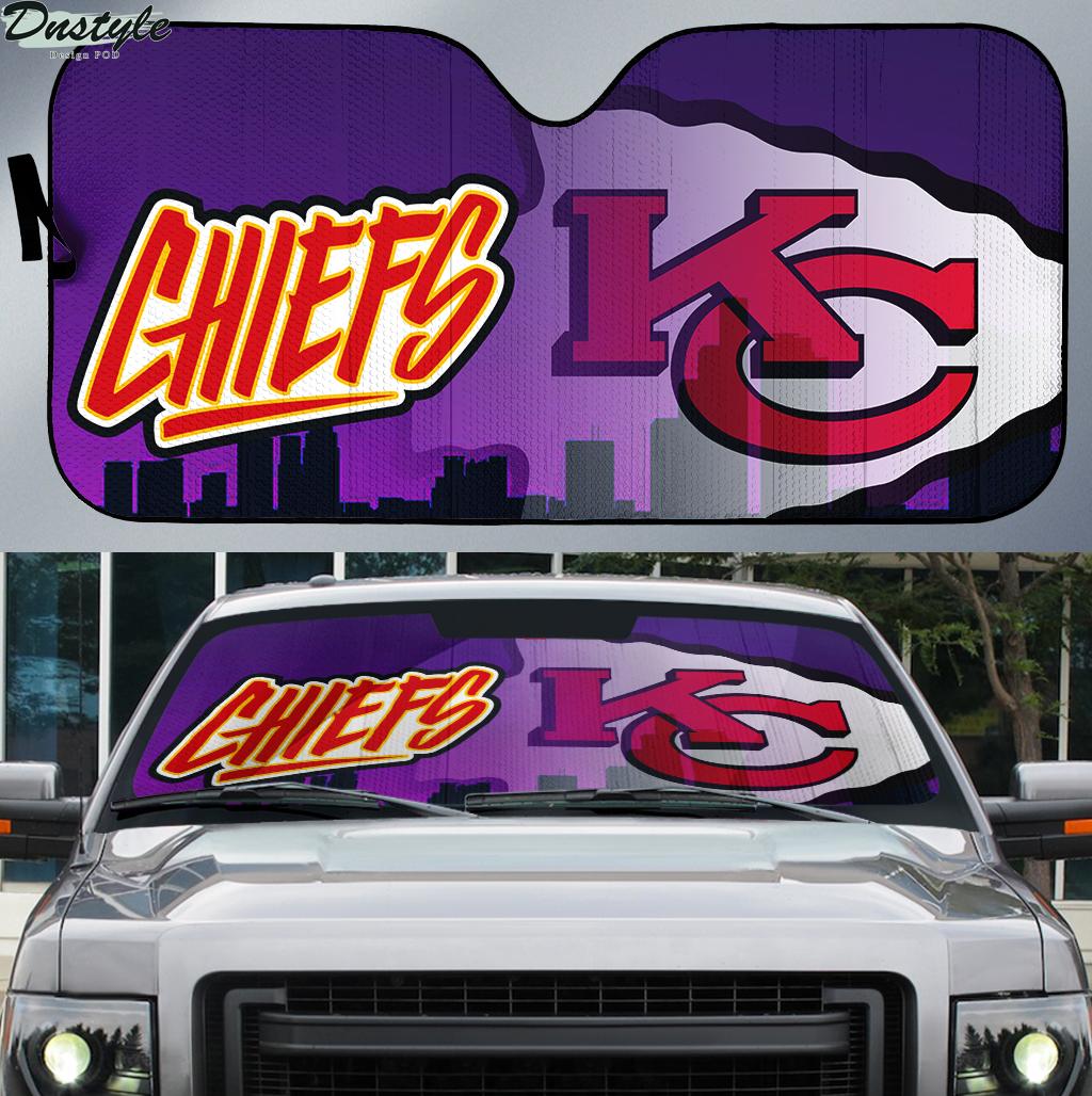 Kansas City Chiefs 1 NFL car sunshade
