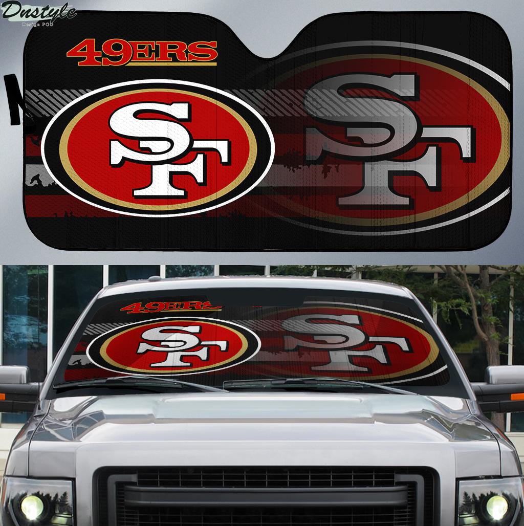 Kansas City Chiefs 2 NFL car sunshade