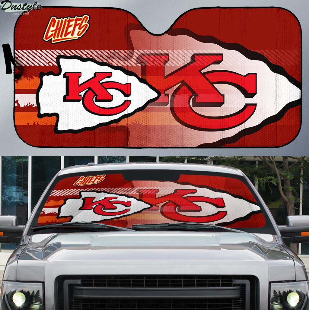 Kansas City Chiefs NFL car sunshade