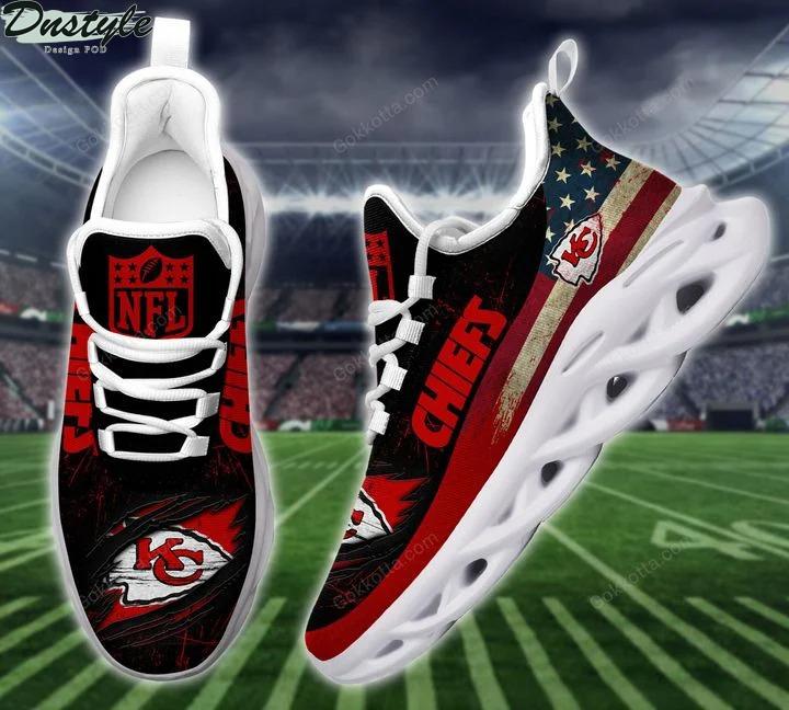 Kansas city chiefs NFL max soul shoes 3