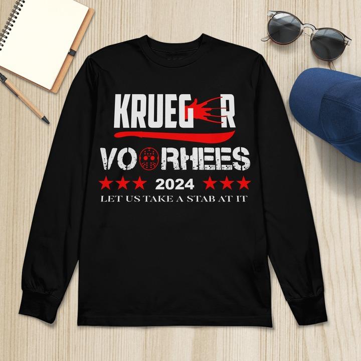 Krueger voorhees 2024 let us take a Stab At It long sleeve