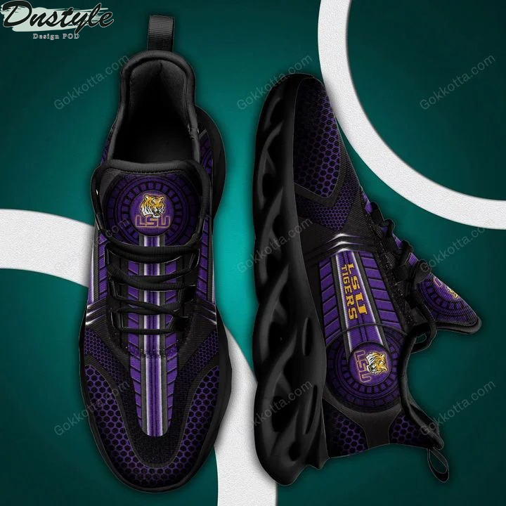 LSU Tigers NCAA max soul shoes 3