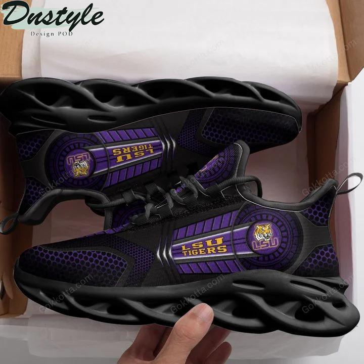 LSU Tigers NCAA max soul shoes