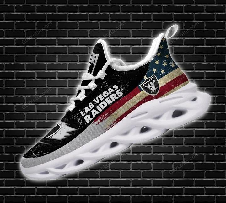 Las vegas raiders NFL max soul shoes 2