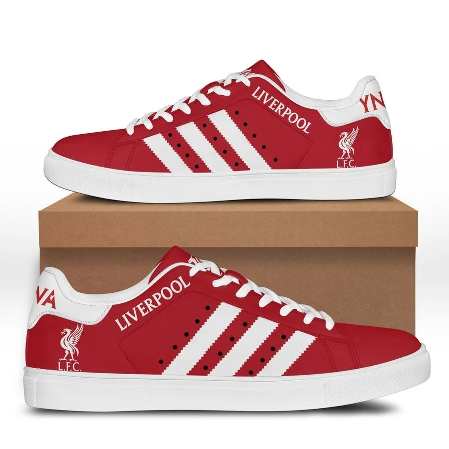Liverpool FC stan smith low top shoes 3