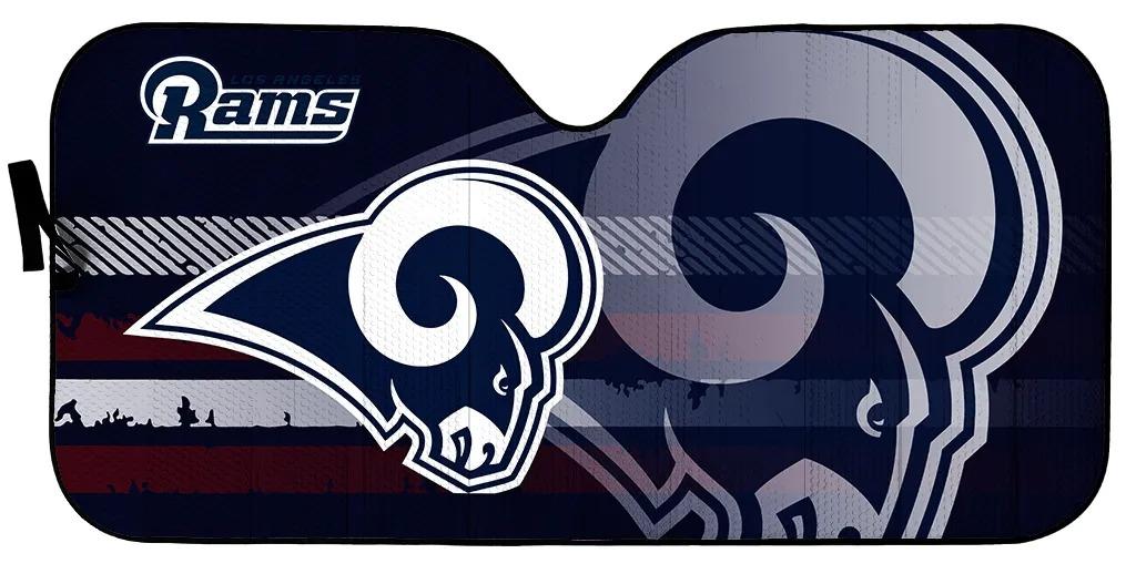 Los Angeles Rams NFL car sunshade 1