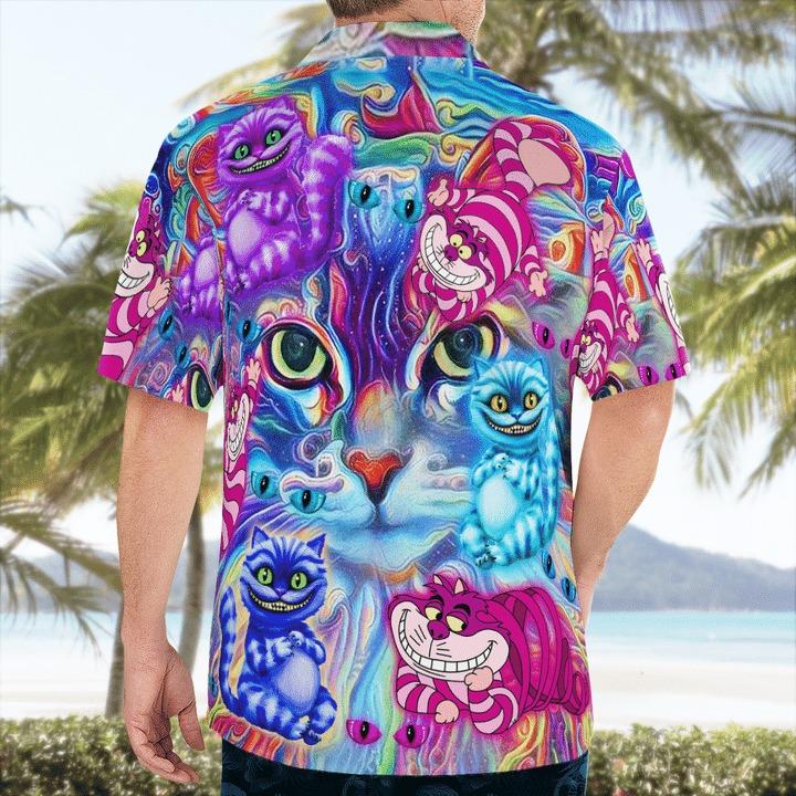 Magical cheshire cats hawaiian shirt 2