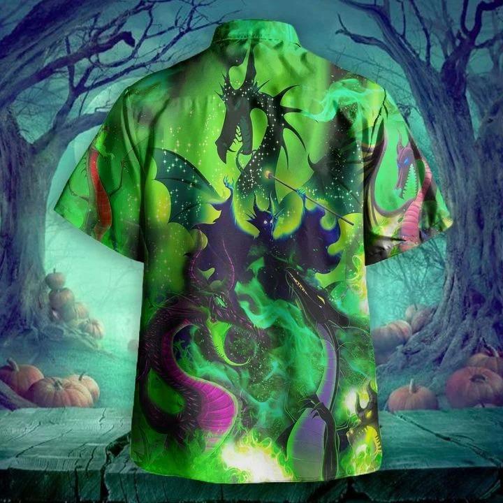 Maleficent dragon hawaiian shirt 1