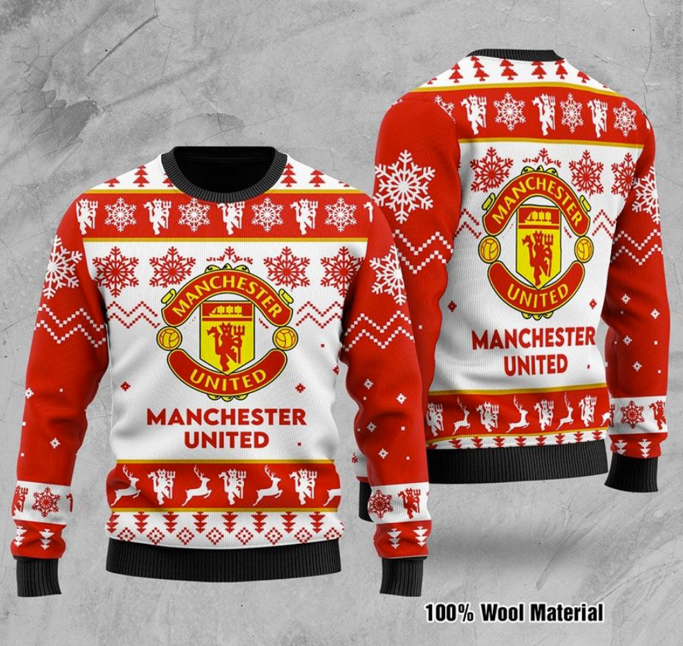 Manchester United FC ugly sweater