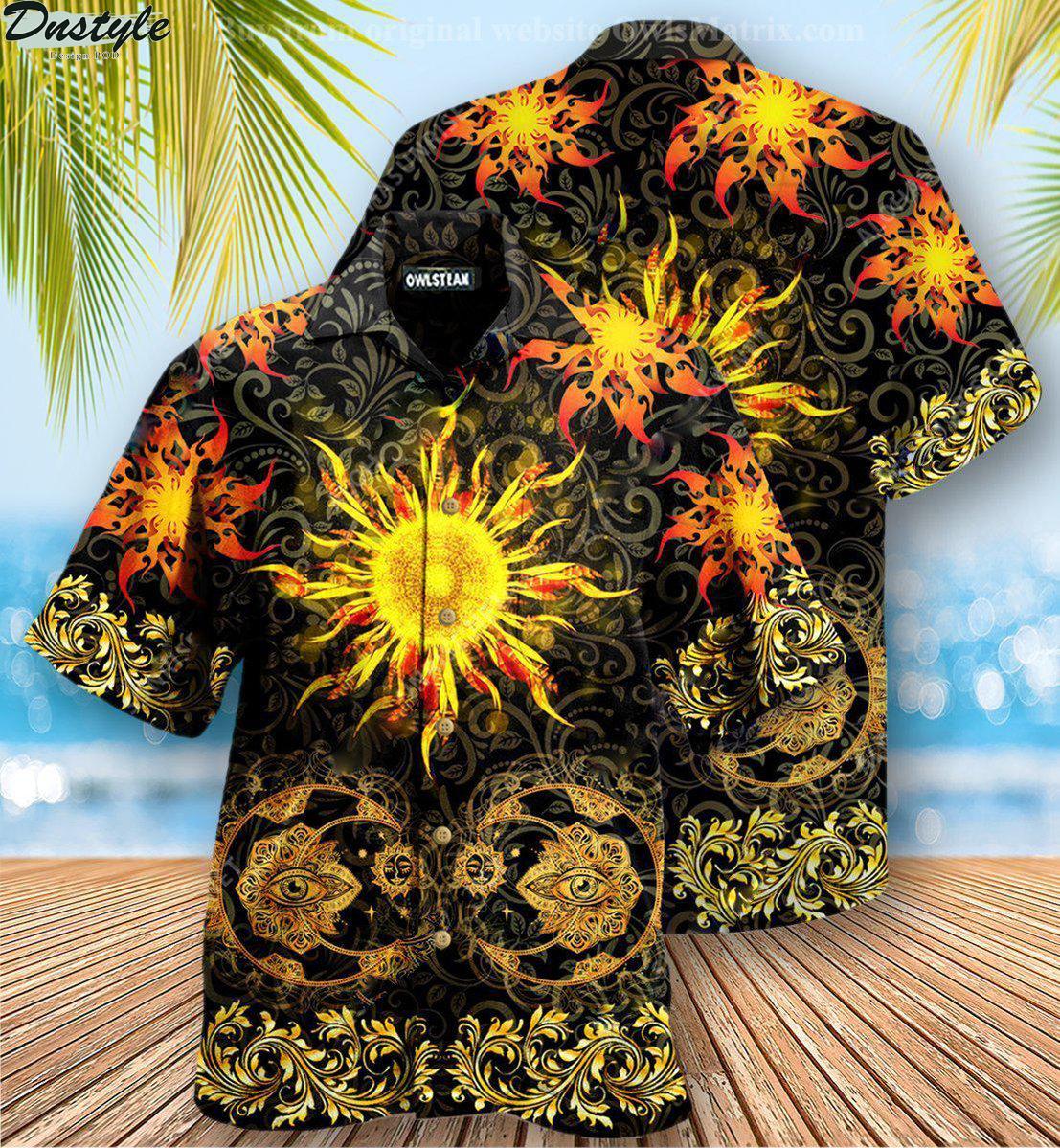 Mandala nothing is more amazing than the sun hawaiian shirt