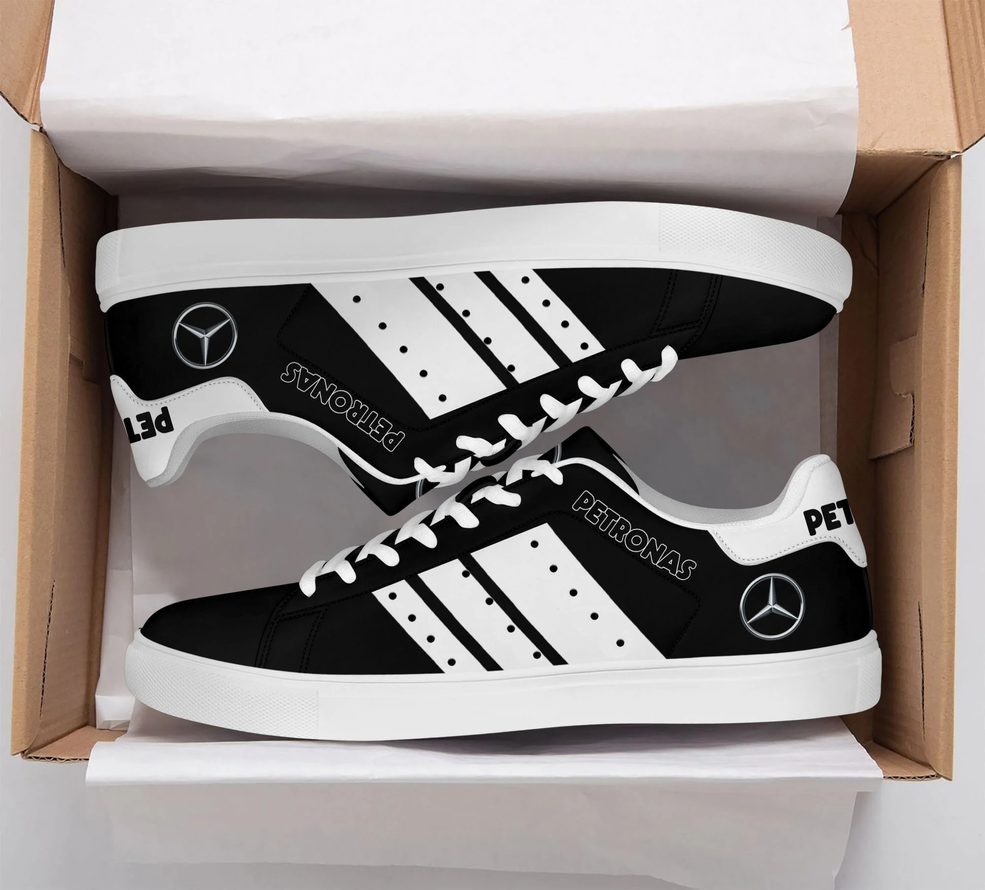 Mercedes AMG F1 stan smith low top shoes 1