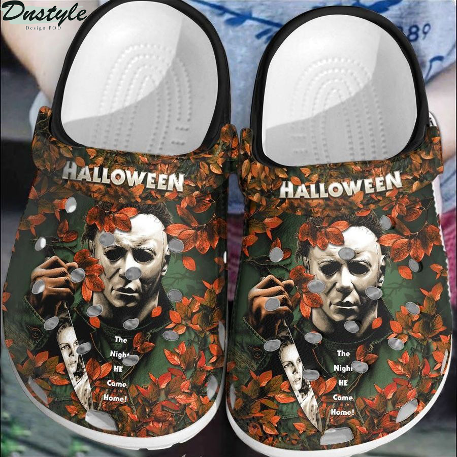 Michael myers halloween the night he come home crocs crocband shoes