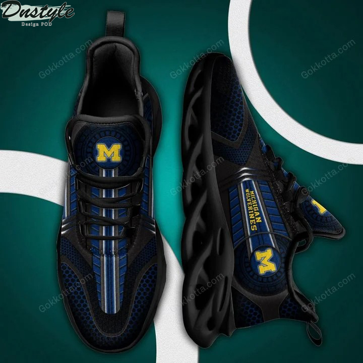Michigan wolverines NCAA max soul shoes 2